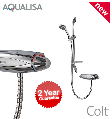Aqualisa Colt Exposed Thermostatic Shower Colt001ea