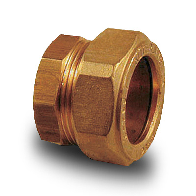 Brass Compression Plumbing Fittings Stop End 8mm 28mm