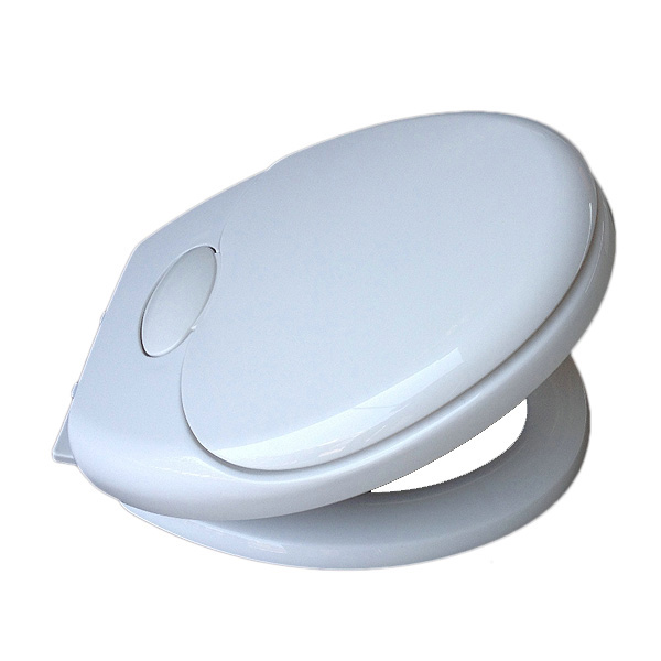 Child Friendly Soft Close Toilet Seat With Bottom Fixing Hinges