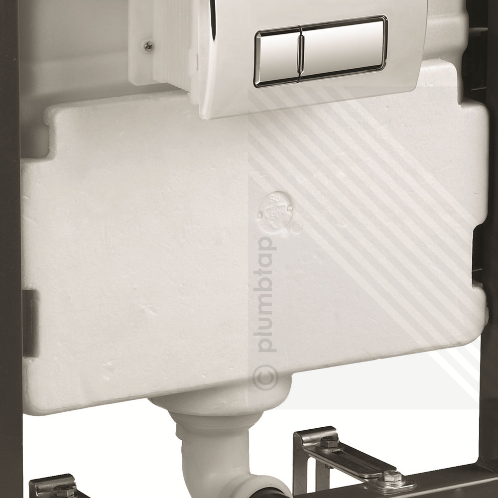 Cyclone concealed universal wall hung wc for Flush with the wall