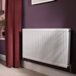 QUINN ROUND TOP RADIATOR  DOUBLE PANEL + HEIGHT 500MM