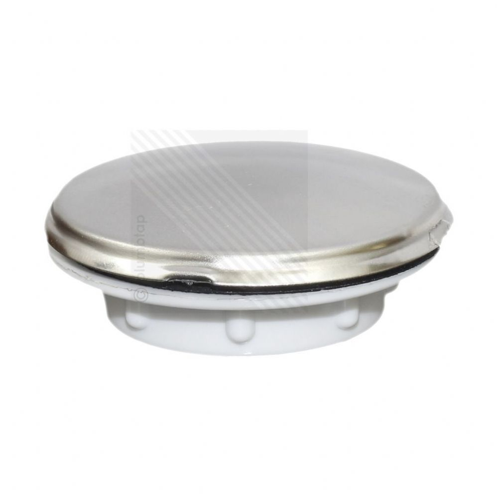 Kitchen Sink Tap Hole Blanking Plug Screw on Round Disk Cover Plate