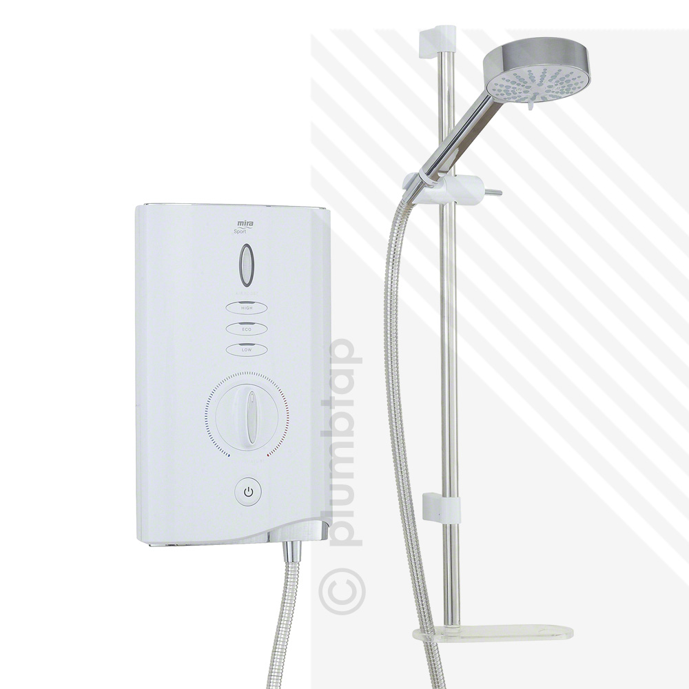 ELECTRIC SHOWER WHITE AMP;