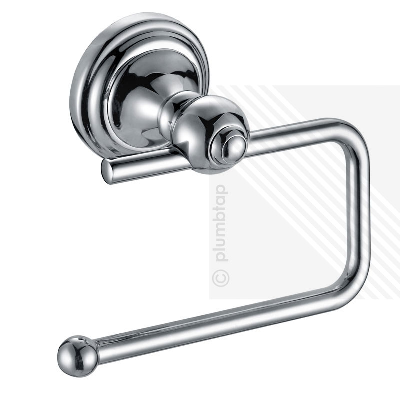 Stylish new toilet roll paper holder wall mounted bathroom accessory chrome - Bathroom accessories toilet paper holders ...
