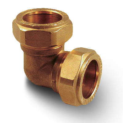 Brass Compression Plumbing Fittings Elbow 8mm 28mm