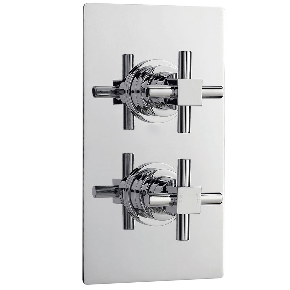 Ultra Titan Concealed Thermostatic Shower Mixer Valve Twin 2 Way ...
