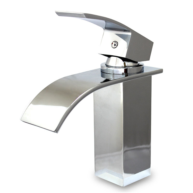 CURVARE Waterfall Basin Mixer Tap
