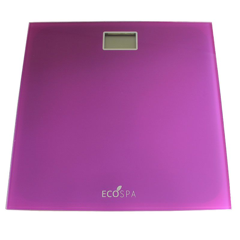 Ecospa Electronic Digital Lcd Body Weighing Bathroom Scales Multiple Colour Options Max 150kg Units Kg Lbs St