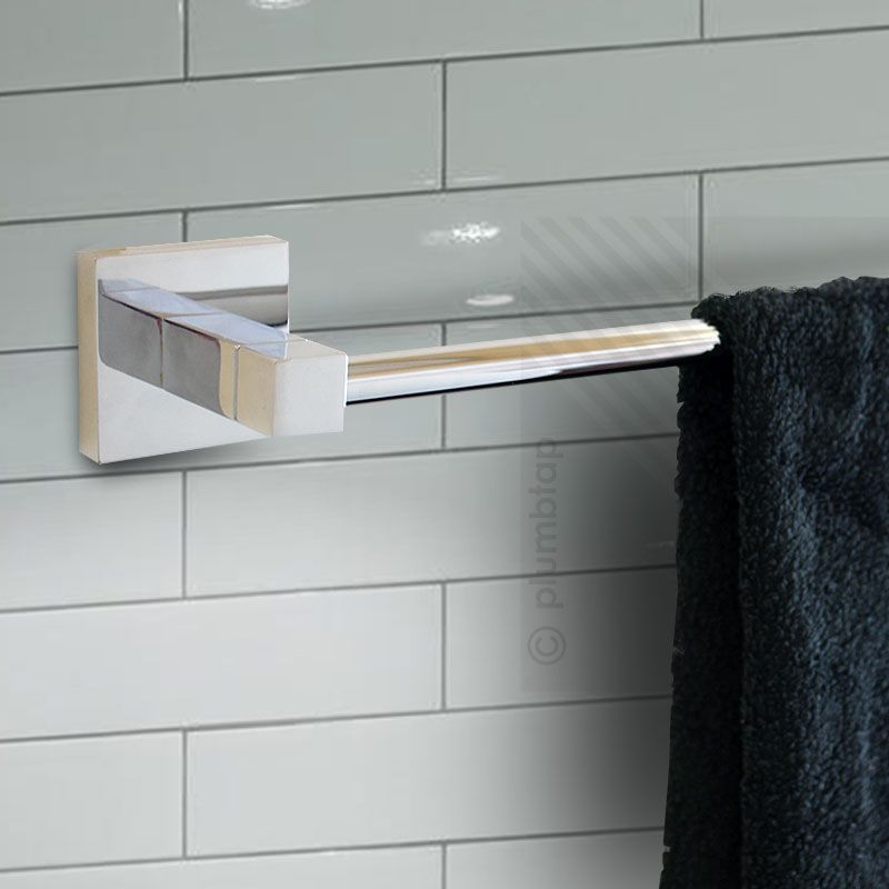 Ecospa modern bathroom toilet roll holder single towel for Bathroom accessories toilet roll holder