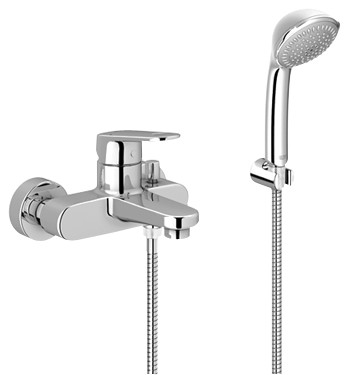 Grohe Europlus Single-lever bath/shower mixer 1/2\