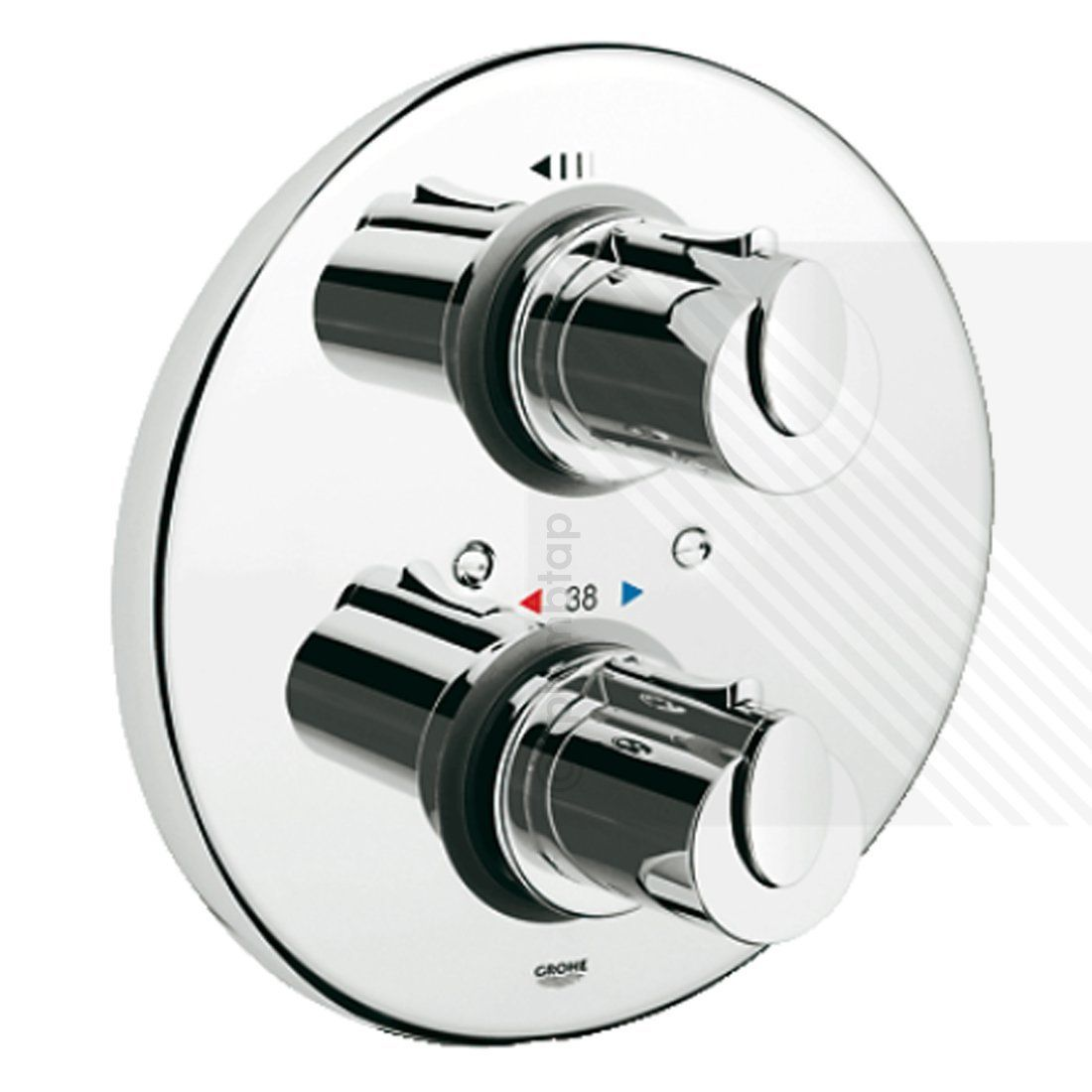 Cool Grohtherm 1000 Concealed Shower System 34162001 IE43