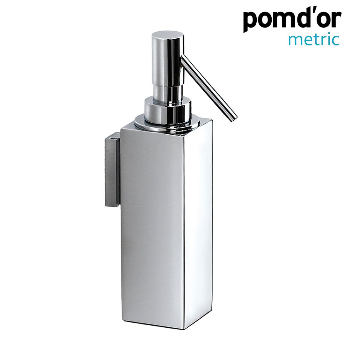 Pom D Or Metric Wall Mounted Soap Dispenser Chrome 387801