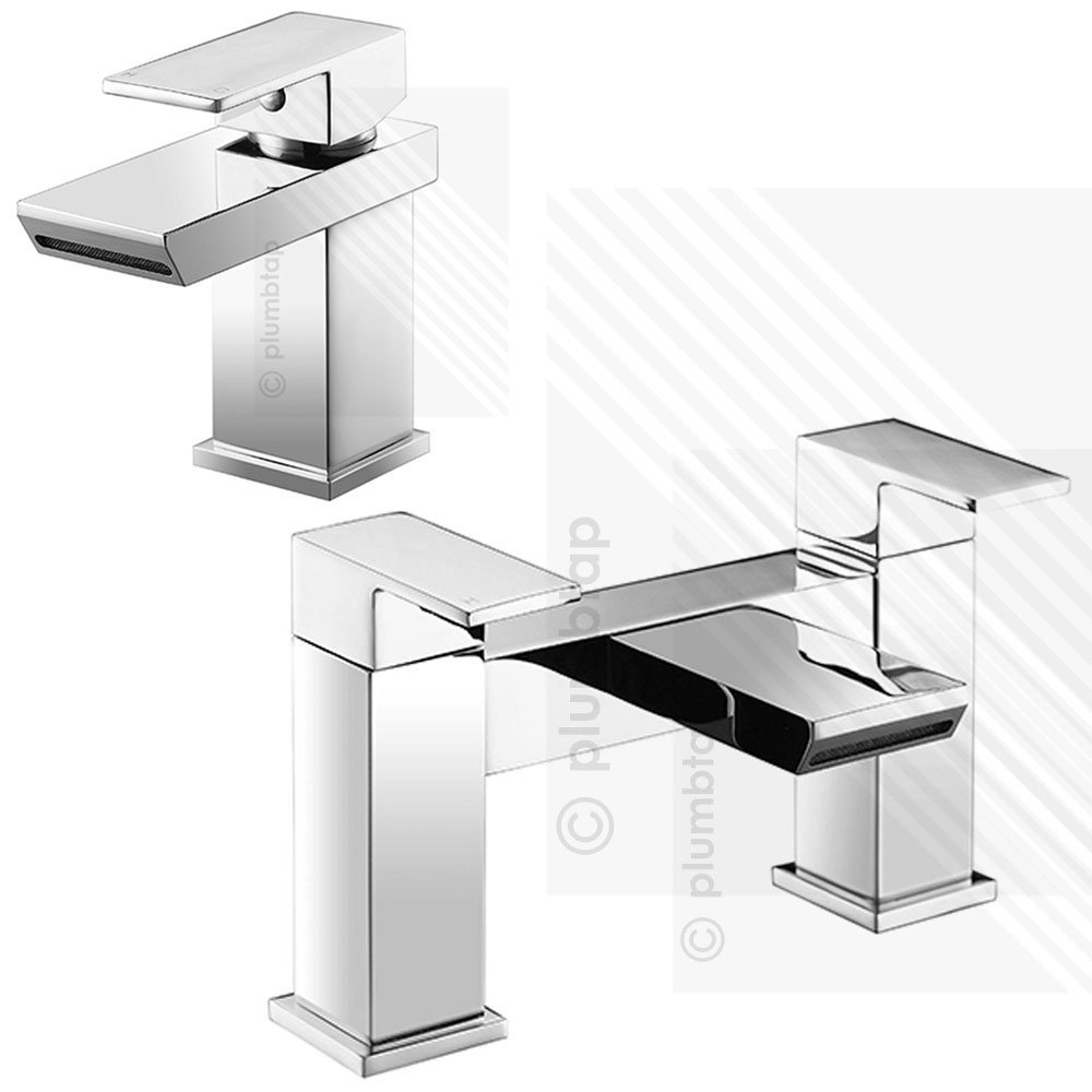 contemporary bathroom taps scudo escobar modern bath filler basin tap mixer pack deck 12466