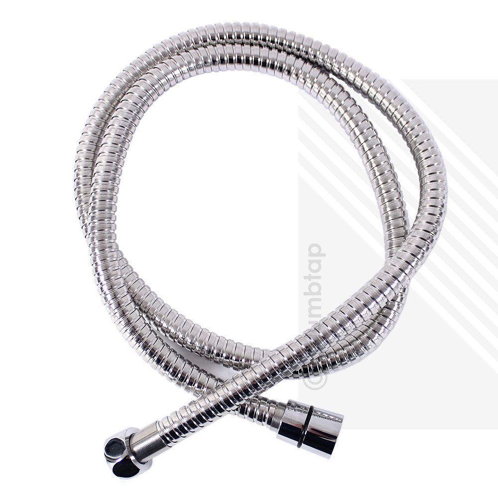 Stainless Steel Chrome Shower Hose 1 25m Universal