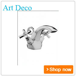 Bristan Bathroom Taps Art Deco