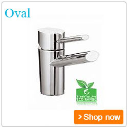 Bristan Bathroom Taps Oval