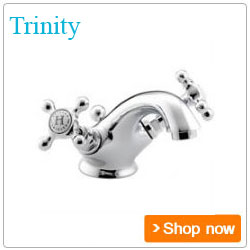 Bristan Bathroom taps Trinity