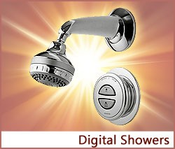 View our collection of Digital Showers