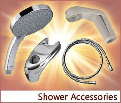 View our collection of Shower Accessories