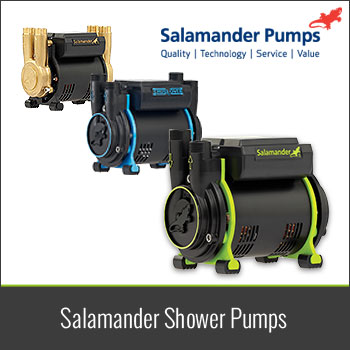 Take a look at the Salamander Shower Pump Range