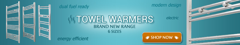 Brand New Range of Towel Warmers - 6 Sizes
