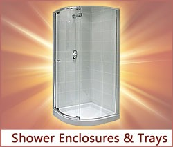 View our range of Shower Enclosures & Trays