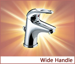 View our collection of Wide Handle Taps