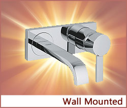 View our collection of Wall Mounted Taps