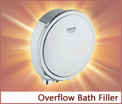 View our collection of Overflow Bath Fillers
