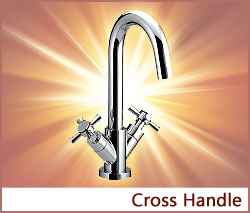 View our collection of Cross Handle Taps